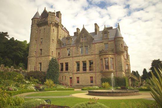 belfast castle by peterhookwilde