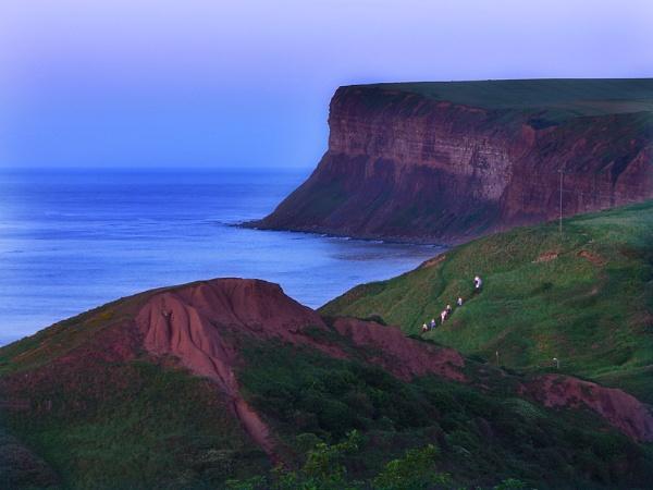 The Cliffs At Saltburn-On Sea by chensuriashi