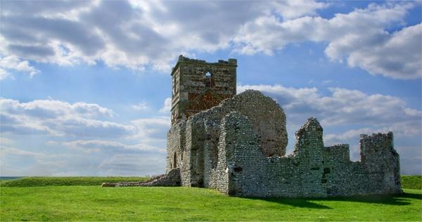 Dorset Castle by MyLastBreath