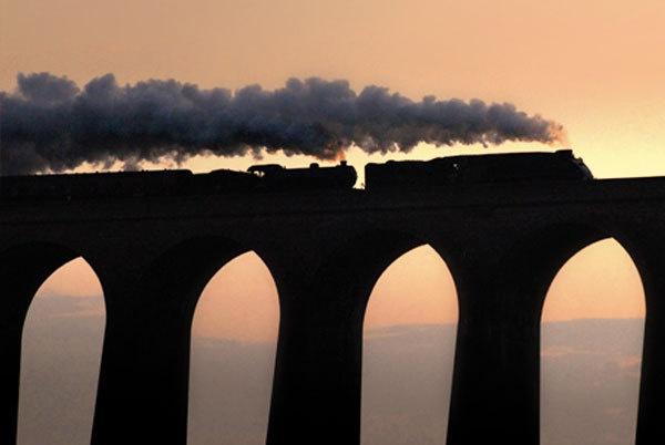 Dawn steam by robincoombes