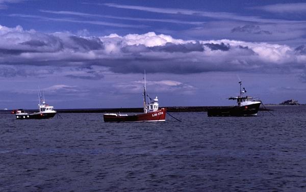 Three Boats by kgb
