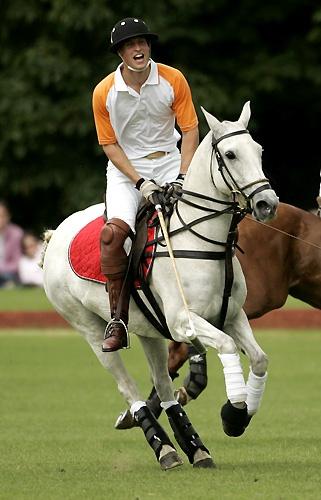 William plays polo by samfurlong