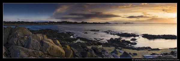 Perelle Bay Pano by Guernseydan
