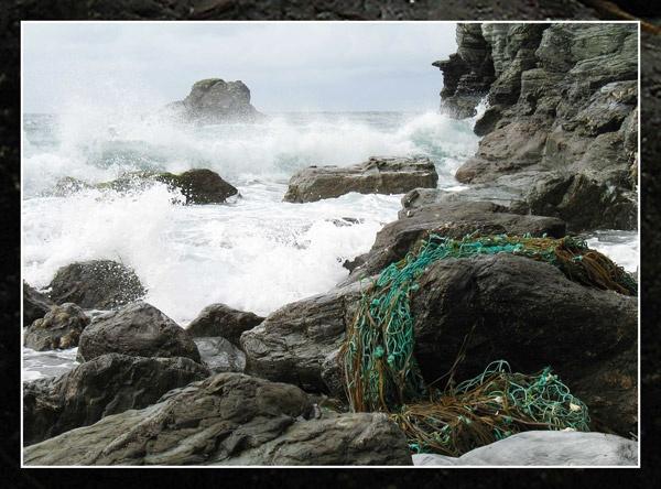 Cornish Sea by Sylviwhalley