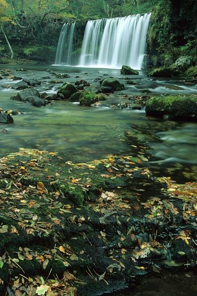 Upper Ddwli Fall. by Badgerfred