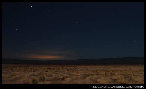 el coyote lakebed by dblacklock