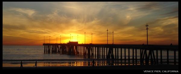 venice pier, california by dblacklock