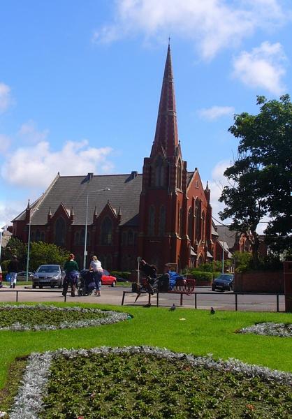 Raikes Parade Church Blackpool by chensuriashi