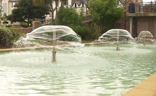 fountains by peterhookwilde