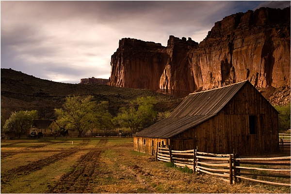 Capitol Reef Barn by billma