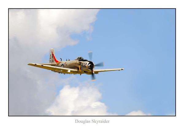 Douglas Skyraider by phillips