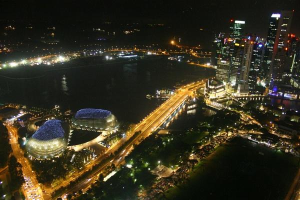 Singapore Night - 1 by phillj