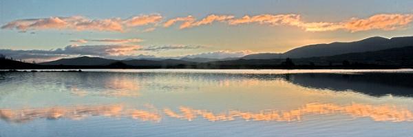 First Light, Loch Ba by EeeZeeLee