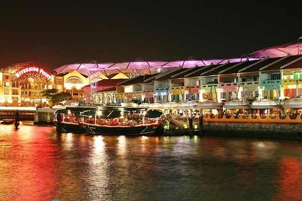 Riverside Point at Clarke Quay, Singapore by paulvo