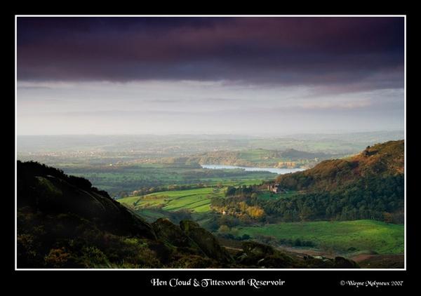 Hen Cloud &Tittesworth Reservoir by waymol