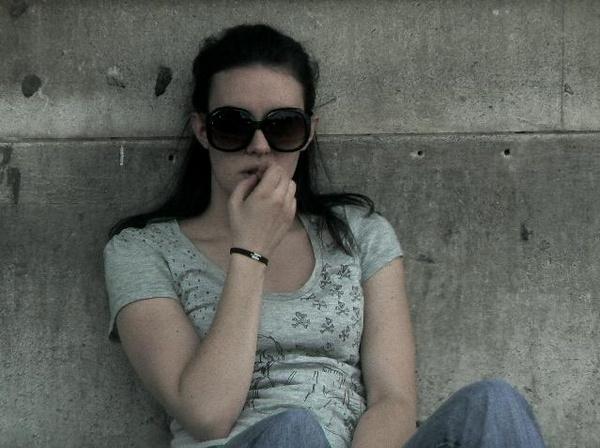 Waiting Girl by Hughmondo