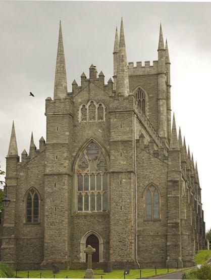 down cathedral by peterhookwilde