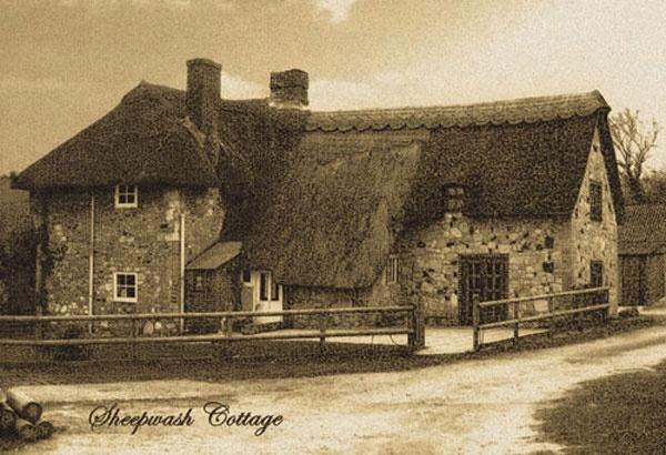 Sheepwash Cottage by badgerwil70