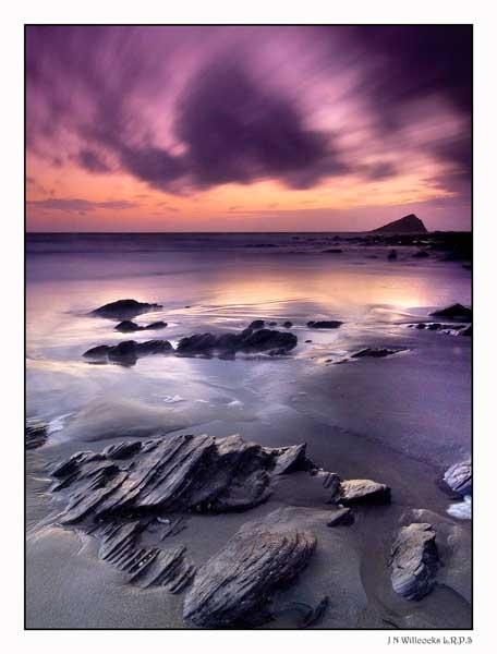 Wembury Sunset by jer