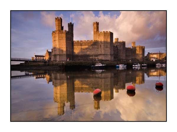 Caernarfon Castle by jer