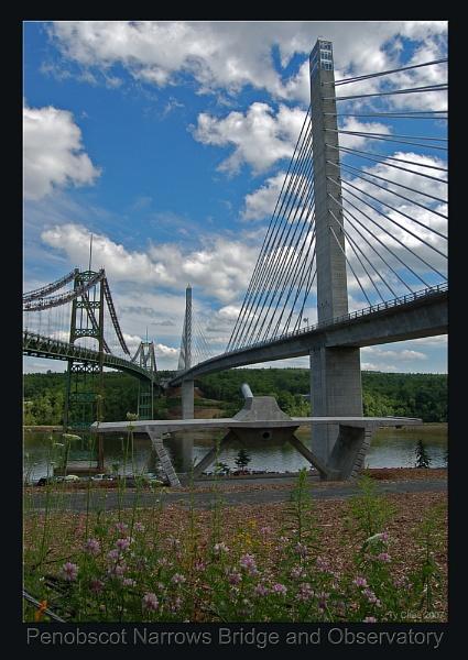 Penobscot Bridge & Observatory - three by TyChee