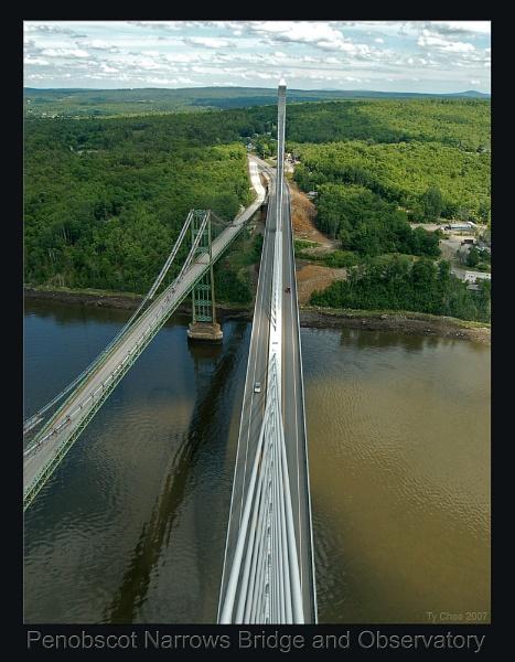 Penobscot Bridge & Observatory - five by TyChee