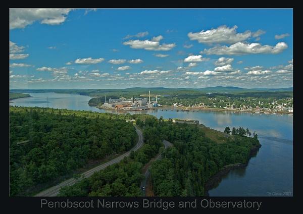 Penobscot Bridge & Observatory - six by TyChee