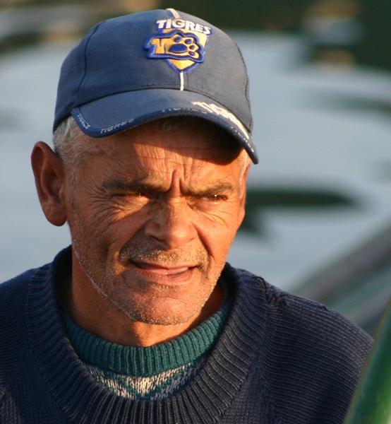 Fisherman in the morning light by Nita