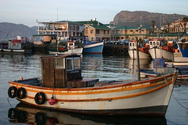 Little Pearl - Kalk Bay Harbour by Nita