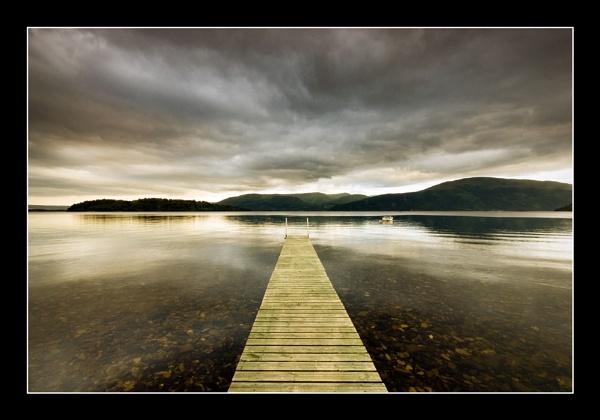 Loch Lomond Jetty by phillips
