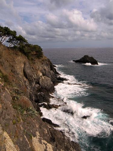 Cinque Terre Cliff by skoffs