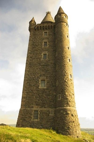 scrabo tower by peterhookwilde