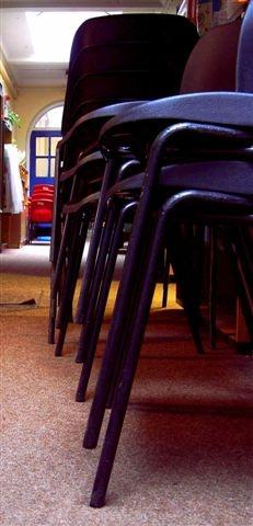 Chairs everywhere by helenlinda