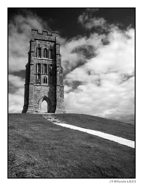 Glastonbury Tor by jer