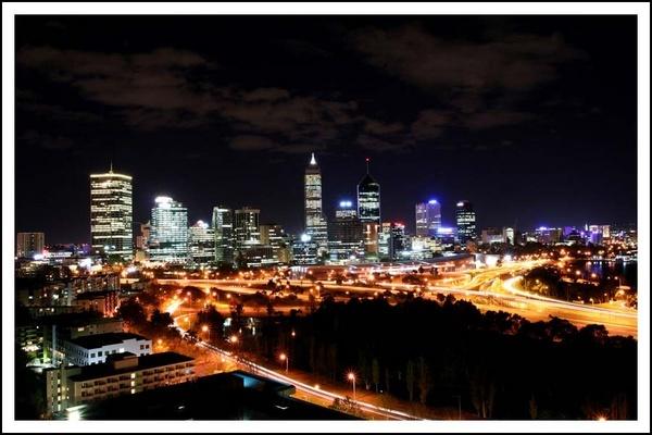Perth Skyline by vivo