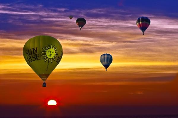 Sunrise by flyking3