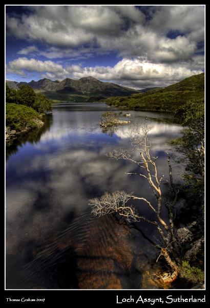 Loch Assynt, Sutherland by uggyy
