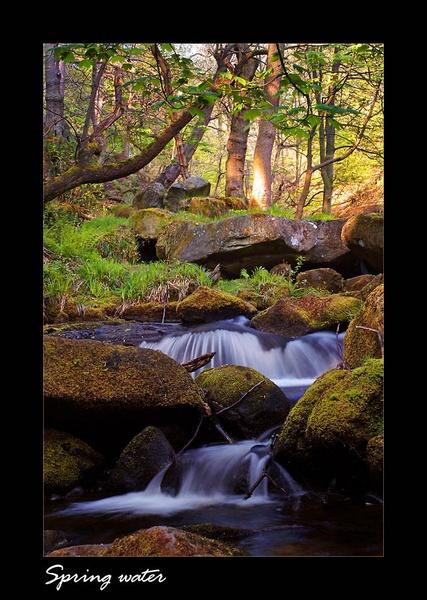Spring water by C_Daniels