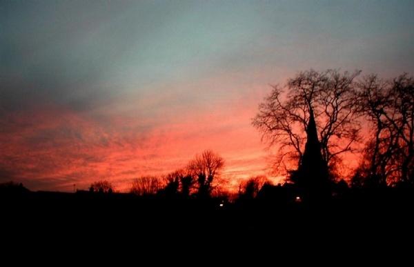 Crimson skies by spanner99