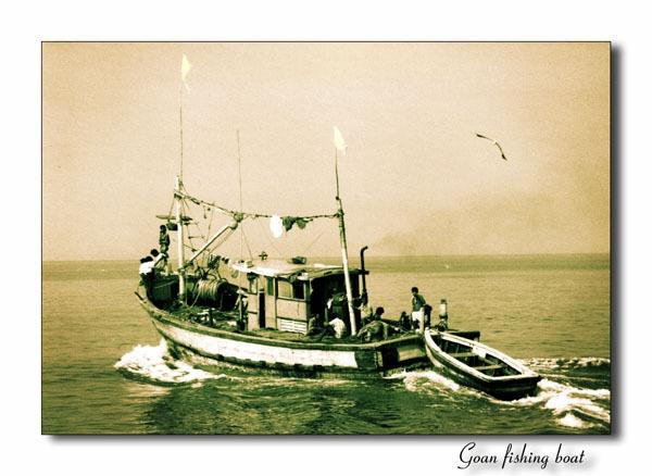 Goan fishing boat by roverfoxy9