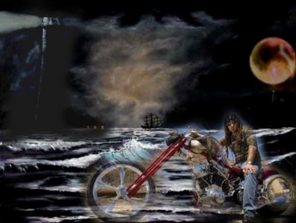 Bad Moon Rising by Paree