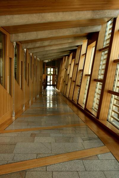 Cubed corridor by happysnappa