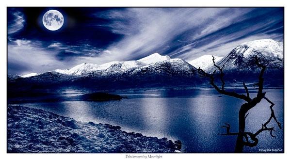 Blackmount by Moonlight by douglasR
