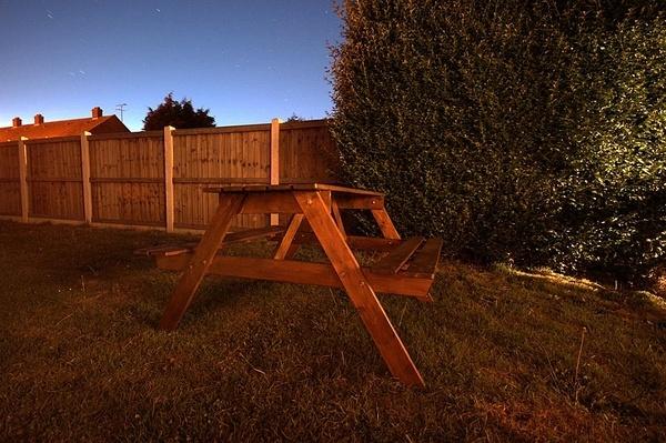 My garden at night by summ3r