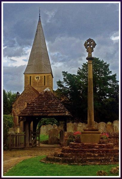 Village Church II by trissie