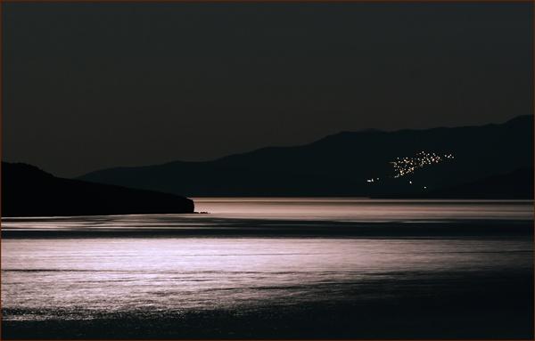 Greek Island Nightscape by francisr