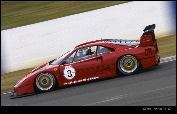 GT90s - Ferrari F40 GT by vaughar