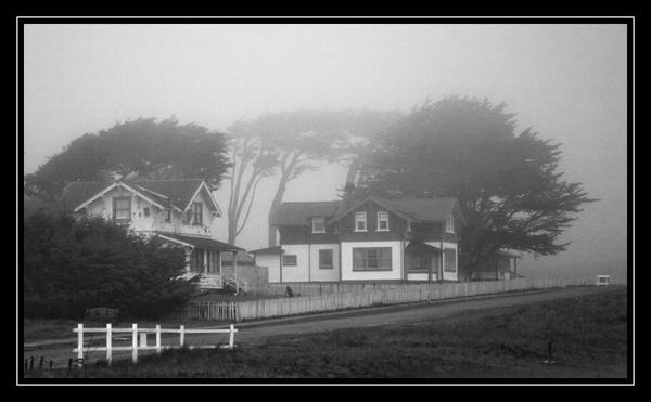 Point Cabrillo Fog by liparig
