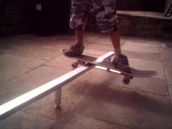 FS Boardslide by skater boy