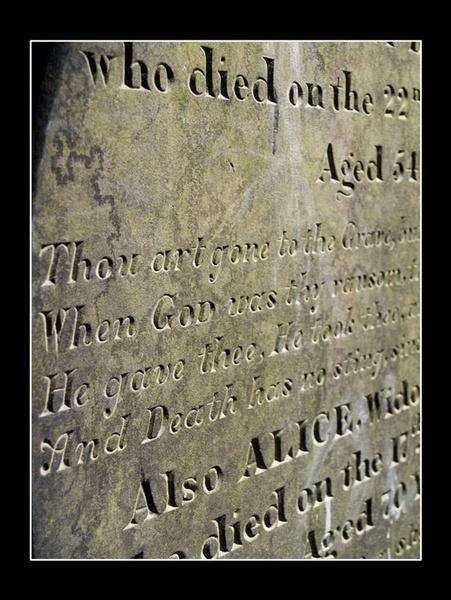 Written in Stone by deejceej